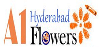 A1 Hyderabad Flowers logo